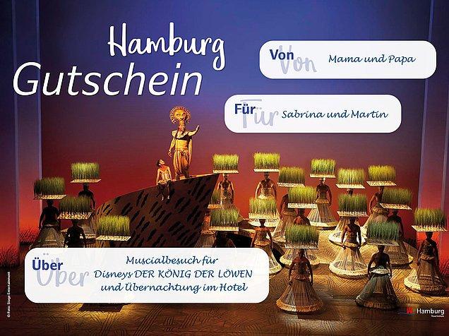 Hamburg Tourismus: Kostenlose Hamburg Gutscheinvorlagen